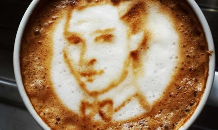 Coffee Art – Guess The Celebrity In Your Cup