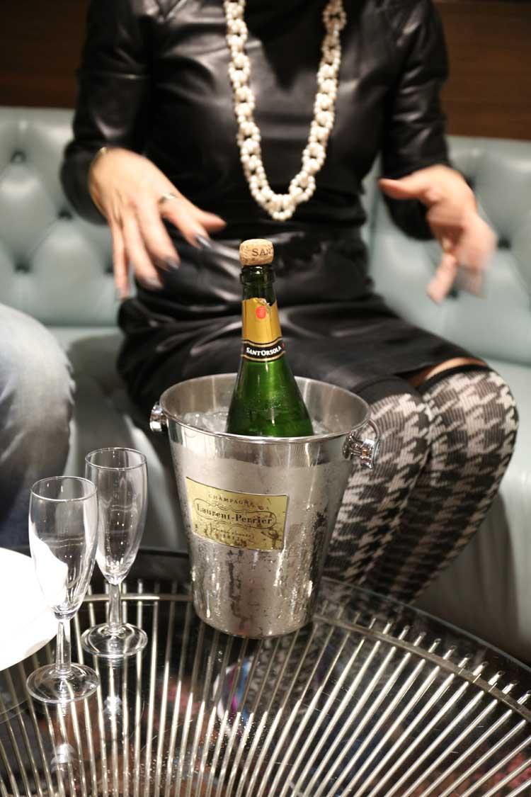 gracie opulanza hilton syon park champagne london 2015
