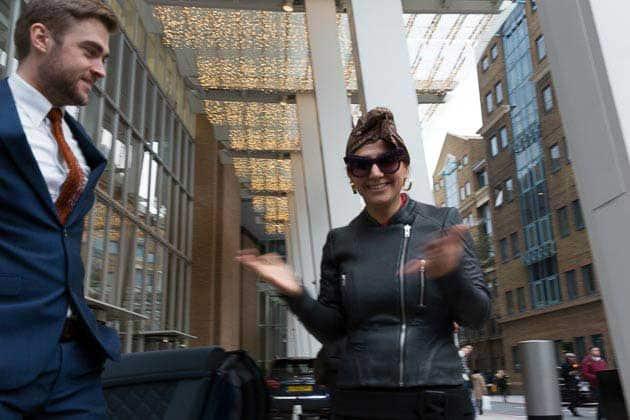 Gracie Opulanza The Shard London eyewear prada Luxury Week London (2)