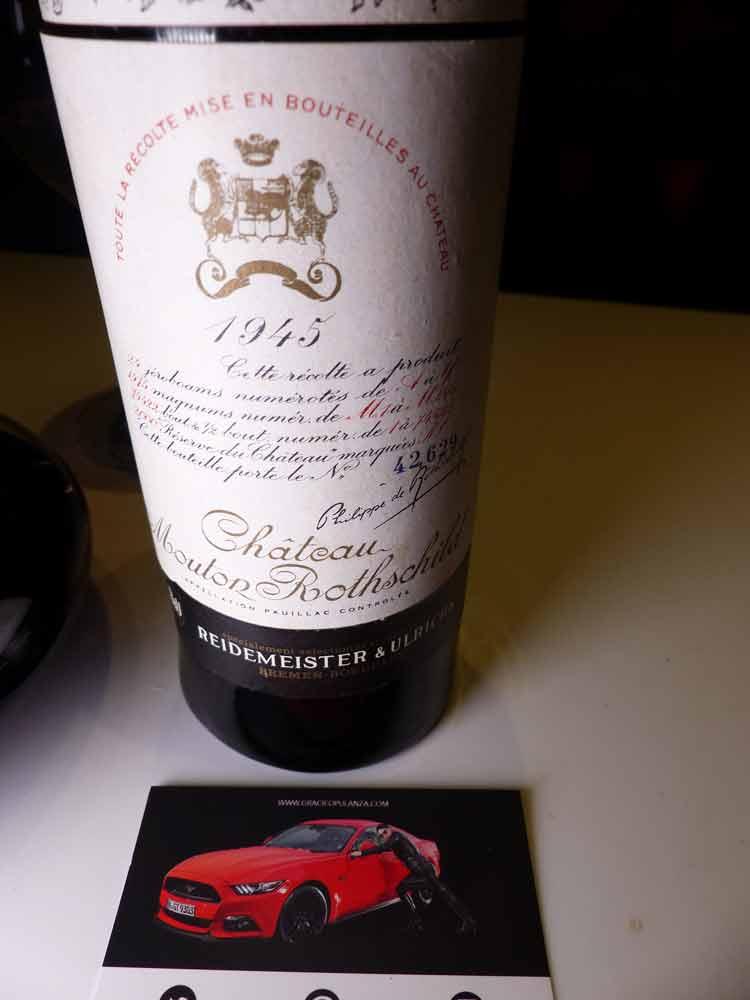 Château Mouton Rothschild Bordeaux 1945 (1)