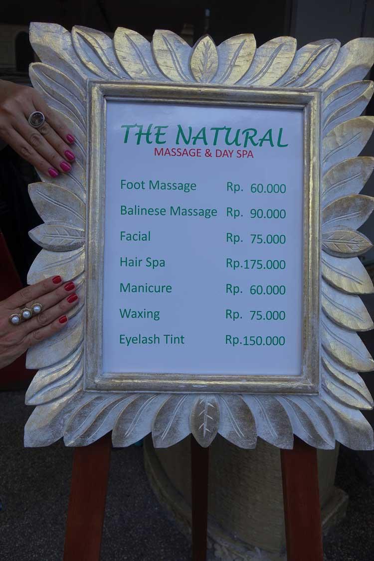 The Natural Spa Bali 2016 Gracie Opulanza Kuta (3)