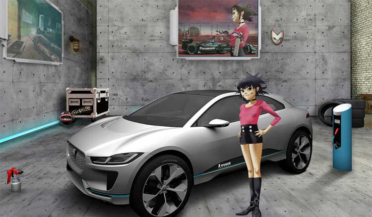 Jaguar Land Rover And Gorillaz Seek New Engineering Talent Via Alternative Reality
