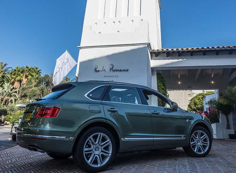 Bentley Bentayga Puente Romano Marbella