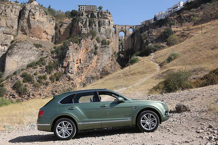 Bentley Bentayga Ronda Spain