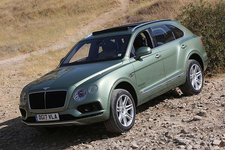Bentley Bentayga Spain
