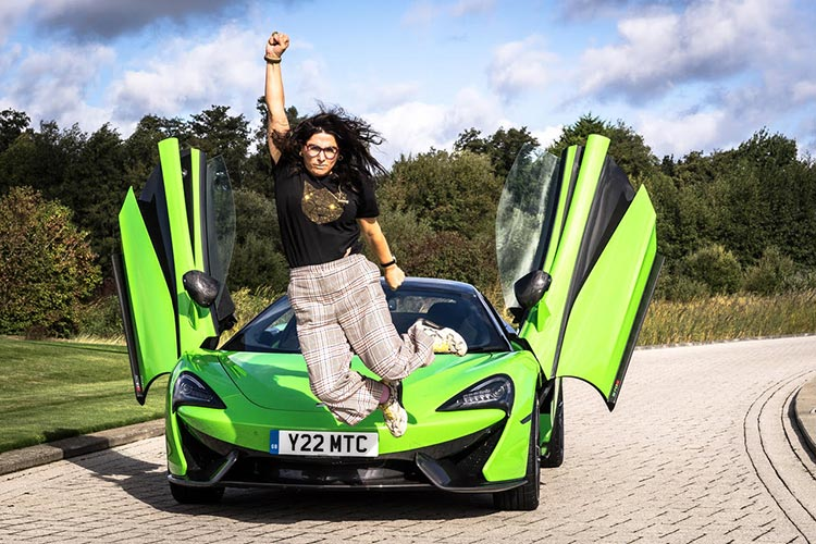 McLaren 570s Reviewed – Women Love Supercars Too