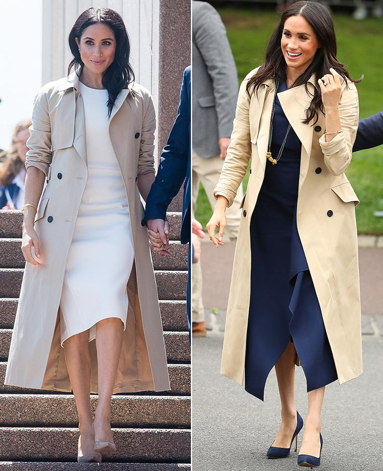 Meghan Markle Trench Coat Australia