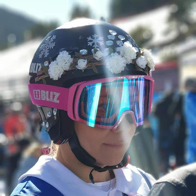 Frida Hansdotter, a Swedish skier
