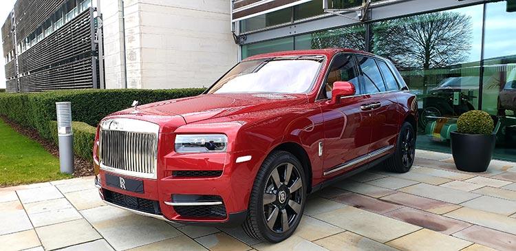 SUV Rolls Royce