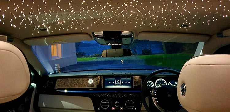 Sarlight Headlight interior roof Rolls Royce